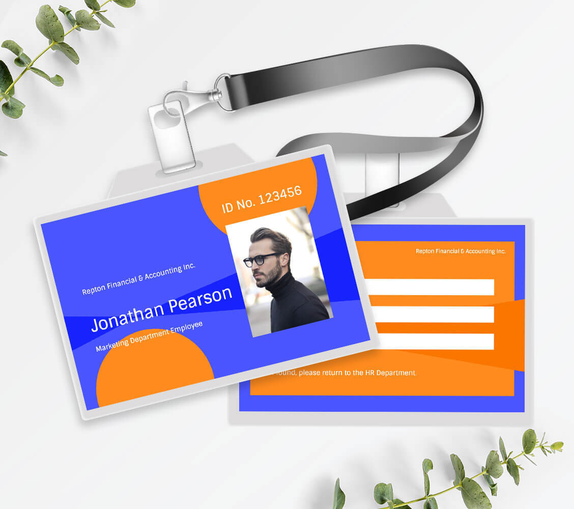Id Card Maker Create A Custom Id Card Online For Free Fotor Graphic Design Software